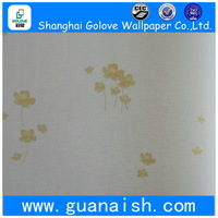 Super quality branded fire resistance vinyl wall paper