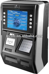 Wall mounted cash dispenser ATM machine