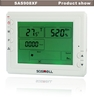 Household indoor carbon dioxide and temperature detector