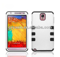 Hot Sell White Robot Style Mobile Phone Case for samsung galaxy note3