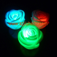 led solar rose flower lights lighting