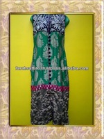 Jamawar Embroided Dress