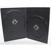 DVD CASE 7MM DOUBLE BLACK