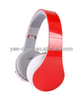 Mutifunctional Ideal sound FM customed bluetooth headset with Mic SD card reader function suit for pc/ phone/mp3/mp4