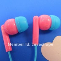 E-DN25 China best earphone cheap 2014 with mic earbud earpiece for student