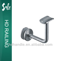 Stainless steel balustrade accessories glass panel mounting brackets