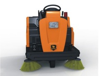 Rechargeable small sweeper industrial street sweeper DQS12
