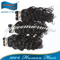 Jewish virgin hair stock Brazilian curl Grade 7A Top best quality Virgin hair machine made weft weaves