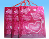 2014 210D polyester printing shopping bag with handble made in Dongguan Factory