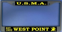 U.S.M.A West Point Photo License Plate Frame-Quantity Discounts Given-click on picture to view