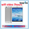 MTK8389 7.85inch 16GB built in 3G mini pad tablet pc 7.85 mtk8389
