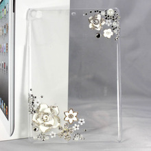 for apple ipad air crystal clear diamond bling case