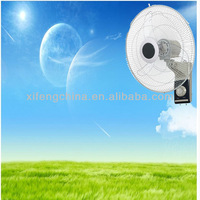 16 inch heavy duty wall mount fan with remote control