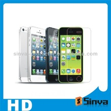 3H 4H Hardness Korea PET Material Matte Finish Anti Glare Anti-scratch Frosted Screen Protector Film For iPhone 5 5s 5c