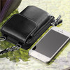 Fashion hot design leather cell phone case belt loop