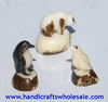 Tagua Collectible Figurines North Pole Animals Vegetable Ivory Hand Carved Statues Home Goods Art Deco Sculpture Ecuador