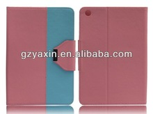 Flip stand smart cover for ipad mini leather case,case for ipad mini leather