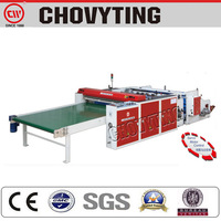 CW-1400FB plastic bag making machine/machine to make heavy duty bags/ bottom sealed heavy duty fertilizer bag maker