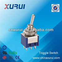 TUV&RoHS 6a mini plastic on-off-on dpdt china toggle switch