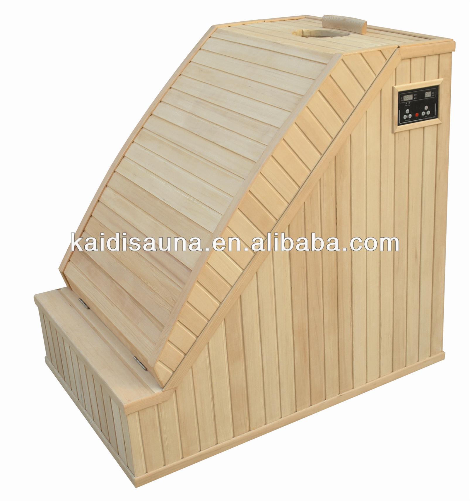 mini sauna canada hemlock half body sauna kd mini01 buy. Black Bedroom Furniture Sets. Home Design Ideas