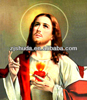 wholesale High Quality Islam 3D Lenticular Pictures Of Jesus Christ