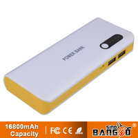 2USB 16800mah power bank for smart phones