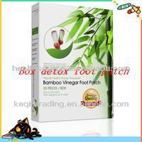 Janpanese Bamboo Detox Foot Patch for slimming and weight loss