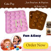 Silicone Tasty-Top 20 Lollipop Chocolate Molds Design,NEW Baking Lollipop Chocolate Molds Design