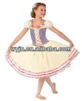 2015 competition dance long tutu dress -ballet wedding dresses -princess girls dress costume