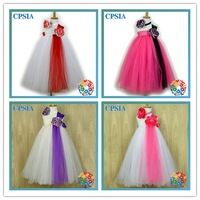 New Arrival latest party wear dresses for girls baby blessing dresses detachable prom dresses