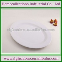 square plastic melamine plate with four divisions