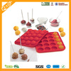 Hot selling 20 Cavitys hard Lollipop candy Mold/silicone accessories for kitchen