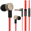 2014 newest stylish metal earbud with mic 3.5mm plug earphone from China