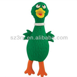 Plastic chicken squeeze toy;Wholesale shrilling chicken toy