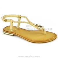 Fashion sandal famous shoes brands in china