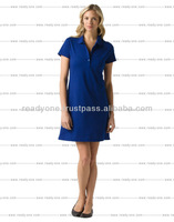2014 latest fashion beautiful polo woman dress