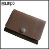 Personalized multipurpose wallet for men small wallet leather card holder