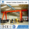 Light Duty Single Girder Unloading Crane With Electric Hoist, Widely Used Gantry Crane For Sale
