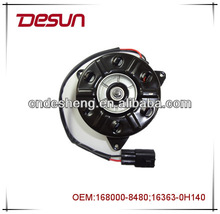 Auto parts car radiator fan motor or condenser fan motor for TOYOTA