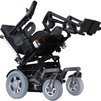 Heartway P25 CEO Complex All Power Electric Wheelchair (Black-18 Inch)