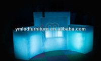 Glowing Led Bar Table/ Modern Bar Table Sets/ Illuminated Outdoor Furniture