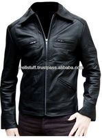 Sythetic Best Genuine Leather fashion jacket for mens