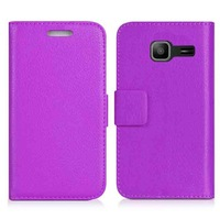 pu leather flip cover for samsung s7390/galaxy trend lite