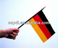 high quality promotional custom france country hand flags