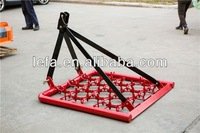 HRP120 farm tractor v type offset disc harrow with hydraulic and trailed supplier