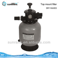 Top mount fiberglass reinforced used pool sand filter for sale