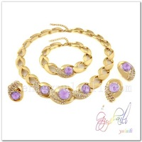 China supplier India gold plated fashion jewelry sets 2014