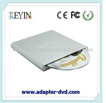 USB 3.0 slim dvd-rw external dvd writer for laptop portable hard drives