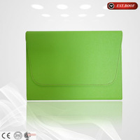 "green leather 7"" tablet silicon case cover for android tablet custom logo"