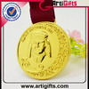 2014 Wholesale cheap custom medals and ribbons